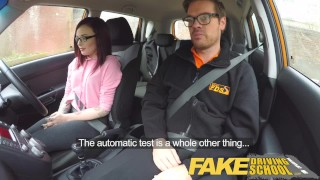 Fake Driving School - teaching teen leaners - 100% pass rate  ebony teen black girl squirting orgasm big tits british glasses squirt black pov car teen creampie student anal orgasm fakedrivingschool reality tv