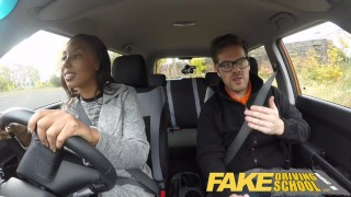 Fake Driving School - teaching teen leaners - 100% pass rate  black girl squirting orgasm big tits british glasses squirt black pov car fakedrivingschool teen creampie student anal orgasm ebony teen reality tv
