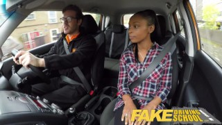Fake Driving School busty black learner fails test with lesbian examiner  big natural-tits big fake-tits british big-tits pussy-licking ebony big-ass black big-boobs fake-tits milf lesbian fakedrivingschool girl-on-girl mature shaved orgasm british milf
