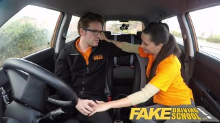 Fake Driving School little English teen gets fucked after her lesson british-teen doggy-style young blowjob teen shaved pov fakedrivingschool cowgirl 18-year-old reality funny teenager petite facial car-sex