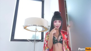 Japanese Geisha Marica Hase Teases And Strips Trailer