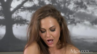 MOM Big natural tits milf expertly drains cock dry with her tight pussy  big tits high heels babe momxxx old mom blowjob busty milf hardcore brunette shaved mother romantic big boobs lithuanian female friendly for women