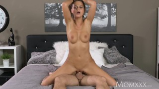 MOM Big natural tits milf expertly drains cock dry with her tight pussy  big tits high heels lithuanian babe momxxx old mom blowjob busty milf hardcore brunette shaved mother romantic big boobs female friendly for women