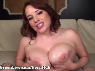 Maggie green sucks and fucks a big cock 10