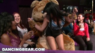 Party Party Party with the Muthafucking Dancing Bear! (db10128)  dancing bear girls gone wild bang bros bangbros bear party milf stripper wild group dancingbear male stripper ggw crazy db10128 girlsgonewild