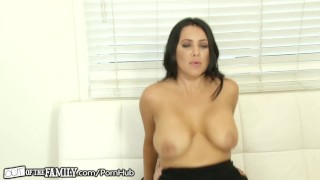 OutOfTheFamily Busty Mommy Squirts for Stepson  big tits high heels outofthefamily squirt stepson blonde mom blowjob squirting step mother petite mother orgasm stepmom pussy licking pussy eating female orgasm