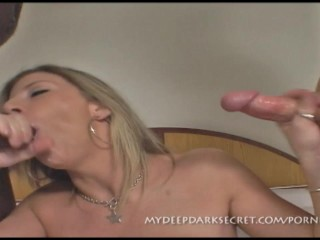 Hot fresh chick behaves kinkily playing with the cock