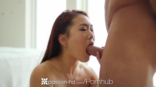 PASSION-HD Asian Lea Hart uses anal beads before ass fuck  asian babe ass fuck big cock hd cumshot analized pounded 4k anal sex 60fps drilled shaved lea hart anal beads anal toys passion hd