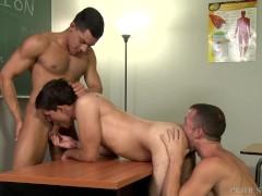 ExtraBigDicks Bad Boys 3Way in Detention