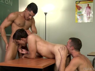 image Extrabigdicks bad boys 3way in detention