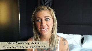 Tattooed whore caught cheating; Blackmailed for a piece of ass!  marks head bobbers mark rockwell doggy style rim job face fucking big load blackmail spanking teen mhb blonde tattoo 60fps mhbhj facial big boobs