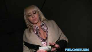 Public Agent Hot blonde fucked on dark public staircase  sex for money sex for cash christina shine cum on tits outdoors outside blonde amateur hungarian thick cumshot real camcorder reality publicagent sex with stranger fake tits