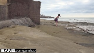 Teen Good Girl Flashes Her Tits Ass & Pussy at The Beach  public nudity point of view public blowjob teen outside blowjob amateur bangrealteens public pov toys young deepthroat teenager doggystyle girl masturbating