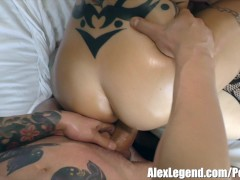 Hottest Threesome with Busty Anna Bell Peaks & Penny Pax!