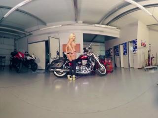 025 - trailer - DAISY LEE - Bikesandbabes.TV - 3DVR180 - by Bravo Models