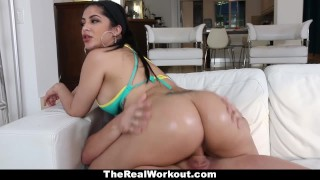 TeamSkeet - Curvy Cuban Babe Fucks Beach Volleyball Coach teamskeet raven jizz big boobs kitty caprice workout sexy sports therealworkout spandex gym latin shorts butt booty busty facial