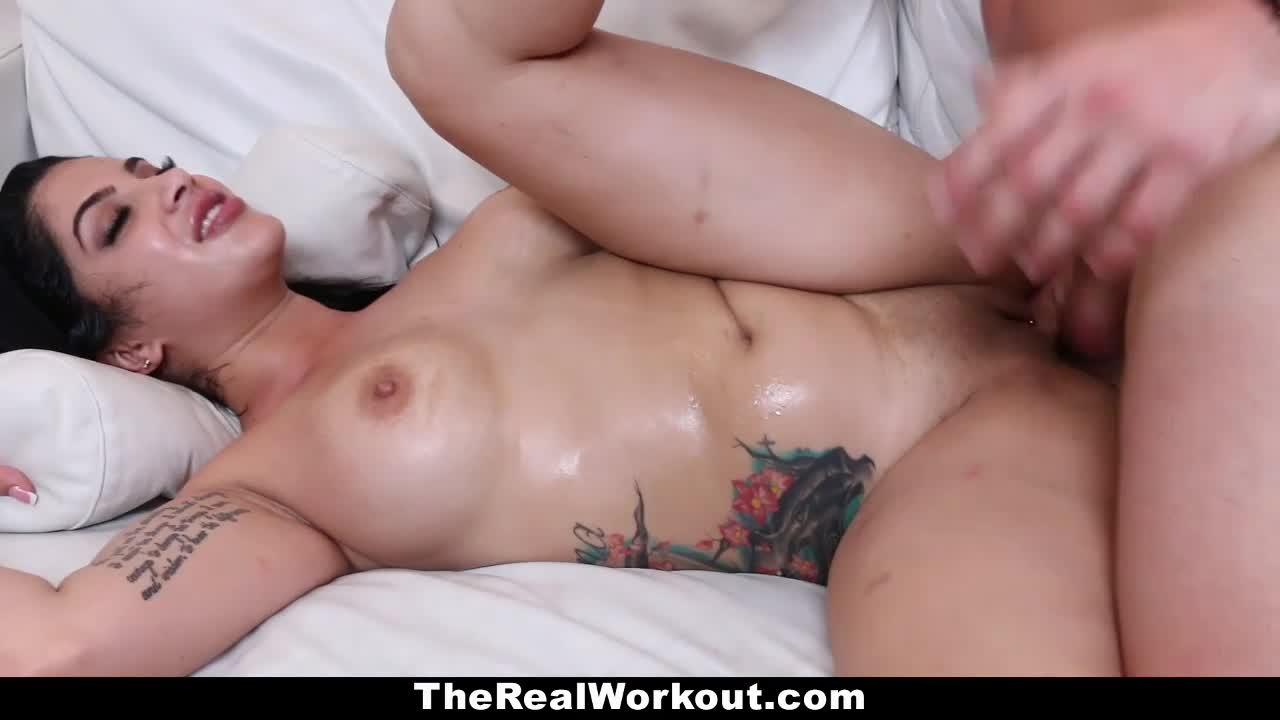 Therealworkout hot ass cuban luna star hardcore workout sex 10