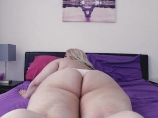 BBW Ass Shaking Panty Creaming - Tease