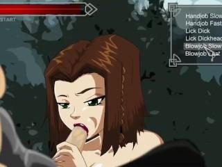 Skyrim BLowjob Porn game