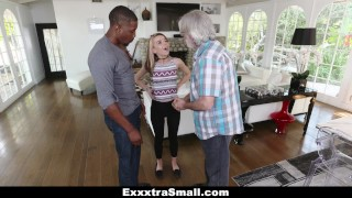 ExxxtraSmall - Petite Teen Fucks Huge Cock To Pay Debt  big black cock bbc exxxtrasmall blonde cumshot skinny teamskeet smalltits interracial petite shaved bigcock facial small frame alina west blacked