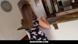DadCrush - Bribing my Hot Step-Daughter To Fuck  step father point of view dad fucks daughter step daughter teen cumshot small tits pov liza rowe young smalltits stepdad petite bigcock teenager step daddy dadcrush