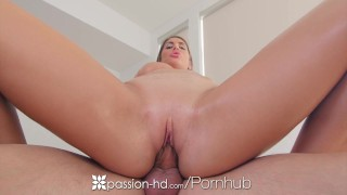 PASSION-HD Busty August Ames fat dripping pussy fucked dildo toys hardcore cream-pie masturbation sex canadian big-tits blowjob blonde august-ames shaved big-boobs tattoo passion-hd hd busty