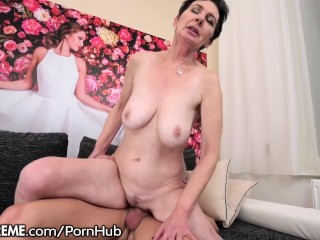 21sextreme naughty grandma loves young cock 3