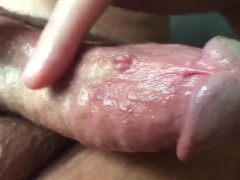 Massaging my Ball & Clit to Orgasm