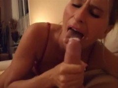 step mom blowjob handjob to son and amazing cumshots
