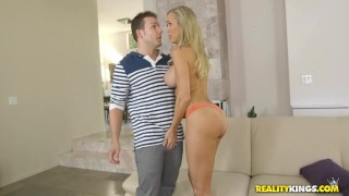 Reality Kings - Brandi love fucks sons friend hunt milf heels big tits realitykings mom blonde riding young and old tight cock sucking mother pick up reverse cowgirl milfhunter trimmed fishnets