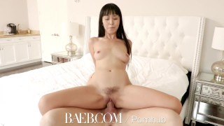 BAEB Asian babe Marica Hase pussy stuffed with super soaker facial  marica hase bombshell hd small asian blowjob small tits brunette 4k 60fps petite sex hottie drilled facial baeb trimmed pussy manscaping