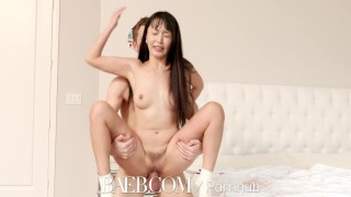 BAEB Asian babe Marica Hase pussy stuffed with super soaker facial small sex asian marica hase hottie blowjob drilled trimmed pussy baeb bombshell small tits manscaping brunette 4k hd facial 60fps petite