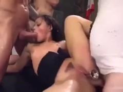 Trans Girl Sucks Cock Hard