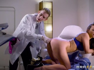 Brazzers - Doctor fucks Amirah Adara in the ass