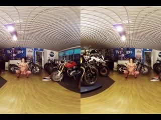 030 - trailer - LUCIA DENVILE - 3DVR180 bikesandbabesTV - by Bravo Models