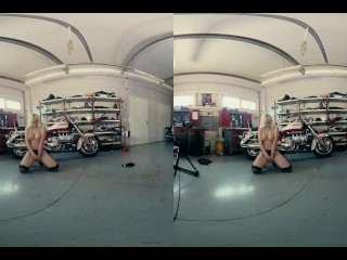 027 - trailer - DAISY LEE - Bikesandbabes.TV - 3DVR180 - by Bravo Models