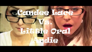 Epic Porn Battles Of Jizzstory - Little Oral Andie Vs. Candee Lace EP2