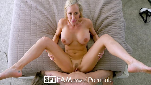 Spyfam big tit step mom brandi love fucks gamer stepson 5