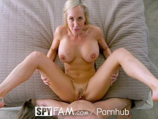 Blonde milf joins bi males 4