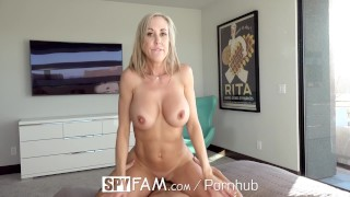 SpyFam Big tit step mom Brandi Love fucks gamer stepson  brandi love big tits hd old mom blowjob cumshot milf hardcore mature sex mother spy spyfam step son step mom