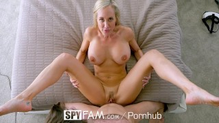 SpyFam Big tit step mom Brandi Love fucks gamer stepson  brandi love big tits hd old mom blowjob cumshot milf hardcore mature sex mother spyfam step son step mom spy