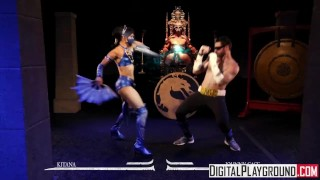 Mortal Kombat A XXX Parody  parody trimmed cosplay alien fetish pounded young hardcore digitalplayground cock sucking rough dpparodies costume teenager johny cage mortal kombat