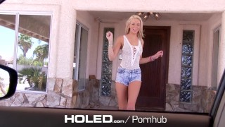 HOLED Car blowjob turns into anal fuck with flexible Tiffany Watson  ass fuck outdoor creampie hd blonde blowjob hardcore 4k anal sex 60fps sex anal tiffany watson holed