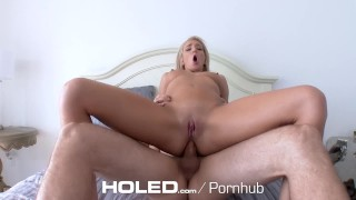 HOLED Car blowjob turns into anal fuck with flexible Tiffany Watson  ass fuck outdoor creampie hd tiffany watson blonde blowjob hardcore anal sex 60fps sex anal 4k holed