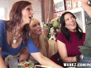 WANKZ- Three Stacked Milfs Desperate For Meat