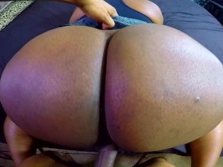 Ass So Juicy Had To Skeet All Over It! (Sperm Dripping Between Ass Cheeks)