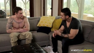 NextDoorBuddies Arad Catches Markie Jerking Off