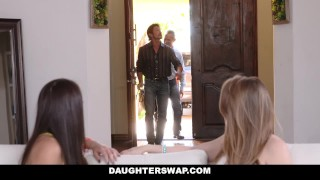 DaughterSwap - Daughters Fuck Dads For Quick Cash  harley jade avi love dads blonde foursome young pawg brunette daughterswap group teenager facial group sex open mouth cumshot wghooty daughters