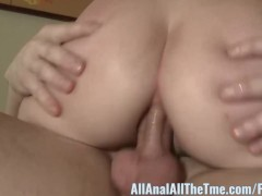 : First Time Cutie Taylor Valentine takes it up the Ass!