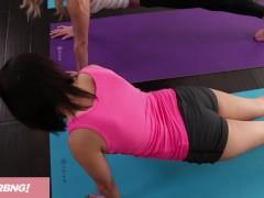 FULL SCENE – Teen Yoga Teacher Seduces Penelope Reed